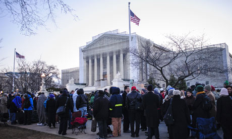 Doma hearings at the supreme court